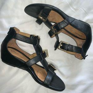 I ❤️ Comfort Black Sandals
